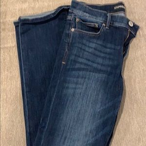 Boot cut stretch jeans size 6R